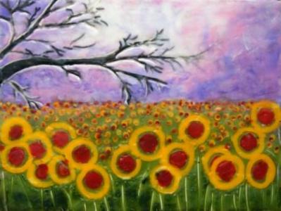 Mystic Sunflowers