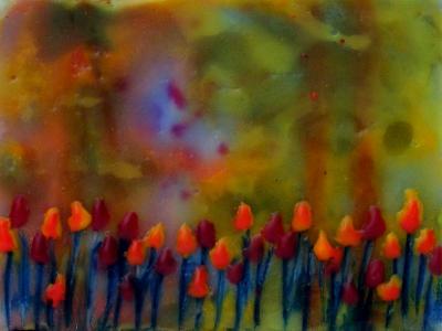 """Tulips 4"""" x 3"""""""