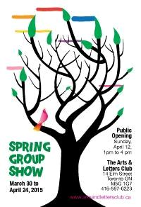 Arts and Letters Club Spring Group Show